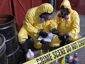 Methamphetamine Lab Clean-ups